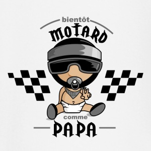 motard comme papa Tee shirts manches longues Bébés - T-shirt manches longues Bébé
