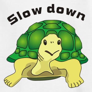 slow down T-shirts - Teenager-T-shirt