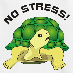 no stress Shirts - Kinderen T-shirt