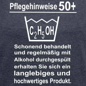 """Geburtstag T-Shirts mit """"50 Geburtstag Pflegehinweise"""""""