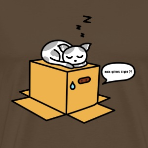 Metal gear cat - T-shirt Premium Homme