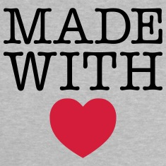Made WIth Heart Baby Shirts