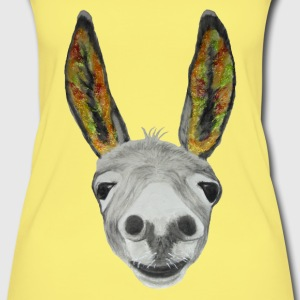 Esel bunt / donkey coloured Tops - Women's Organic Tank Top