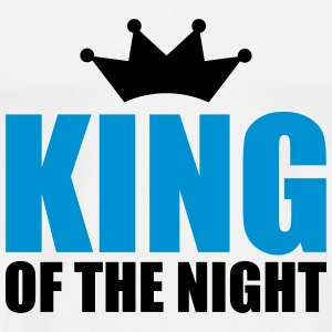 KING OF THE NIGHT T-skjorter - Premium T-skjorte for menn