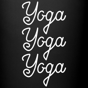 Yoga Yoga Yoga Mugs & Drinkware - Full Colour Mug
