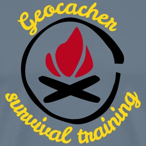 Geocacher Survival Training - Männer Premium T-Shirt