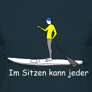 Stand-Up-Paddeling SUP T-Shirts - Männer T-Shirt