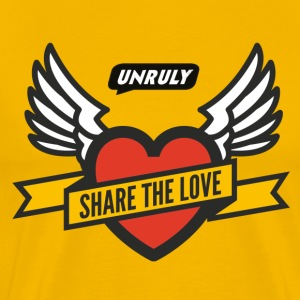Unruly Share The Love T-Shirts - Men's Premium T-Shirt