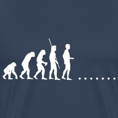 Evolution in nowhere T-Shirts