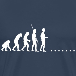 Evolution in nirgends Shirt - Männer Premium T-Shirt