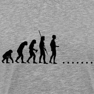 Evolution i nowhere T-shirts - Herre premium T-shirt
