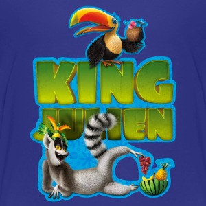 King Julien Teenager T-Shirt - Teenager Premium T-Shirt