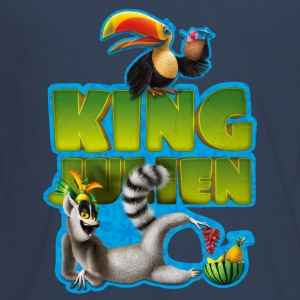 King Julien Teenager Langarmshirt - Teenager Premium Langarmshirt