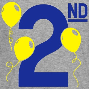 Happy 2nd Birthday Langarmshirts - Teenager Premium Langarmshirt