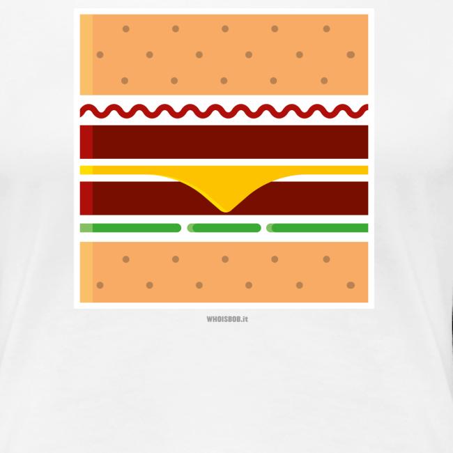 Square Burger - Girl