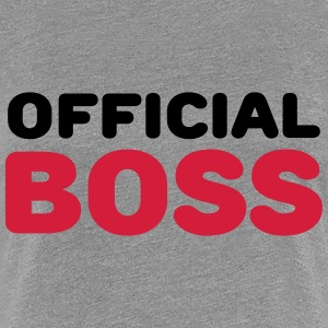 Official Boss T-Shirts - Women's Premium T-Shirt