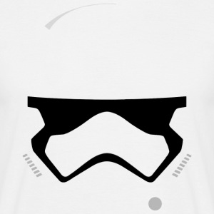 Storm Trooper Helmet T-Shirts - Men's T-Shirt
