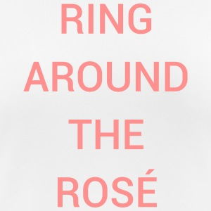 RING AROUND THE ROSÉ T-Shirts - Women's Breathable T-Shirt