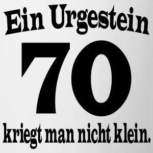 """Geburtstag T-Shirts mit """"Urgestein 70. Geburtstag"""""""