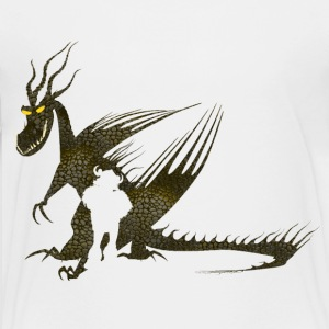 Dragons Snotlout & Hookfang Teenager T-Shirt - Teenage Premium T-Shirt