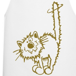 Naughty cat  Aprons - Cooking Apron
