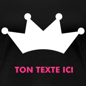 crown T-shirts - Premium-T-shirt dam