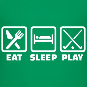 Eat sleep Feldhockey T-Shirts - Kinder Premium T-Shirt