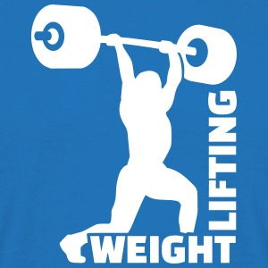 Weightlifting T-Shirts - Männer T-Shirt