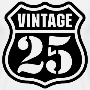 Vintage 25 Tee shirts - T-shirt Homme