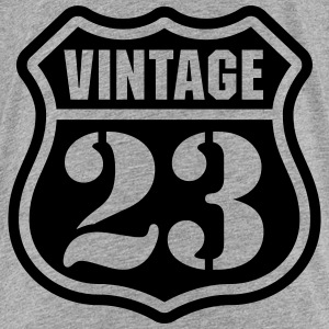 Vintage 23 T-Shirts - Teenager Premium T-Shirt