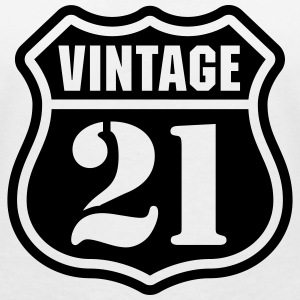 Vintage 21 T-Shirts - Women's V-Neck T-Shirt