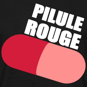 Pilule rouge Tee shirts - T-shirt Homme