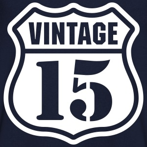 Vintage 15 T-Shirts - Men's V-Neck T-Shirt