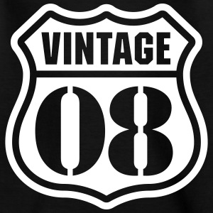 Vintage 08 T-Shirts - Teenager T-Shirt