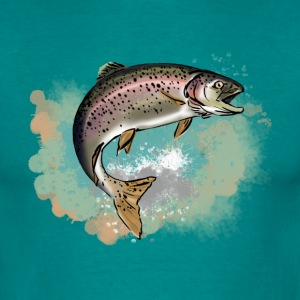 Trout T-shirts - Mannen T-shirt