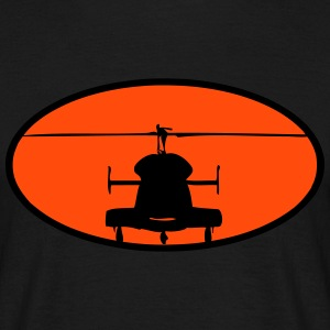 Helikopter logotyp - T-shirt herr