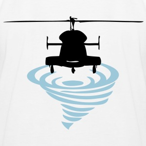 Helicopter Vortex - Kids' Baseball T-Shirt