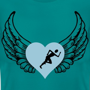 Joggers in heart - Women's T-Shirt