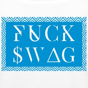 fuck swag Tops - Frauen Premium Tank Top