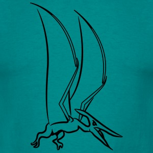 Saurien Pteranodon ptérodactyle Tee shirts - T-shirt Homme