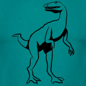 Dinosaur Dinosaur Button T-Shirts - Men's T-Shirt
