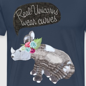 Real Unicorns wear curves T-Shirts - Männer Premium T-Shirt