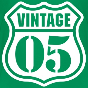 Vintage 05 T-shirts - Teenager premium T-shirt