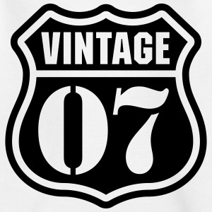 Vintage 07 T-Shirts - Teenager T-Shirt