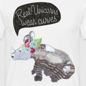 Real Unicorns wear curves T-Shirts - Männer T-Shirt