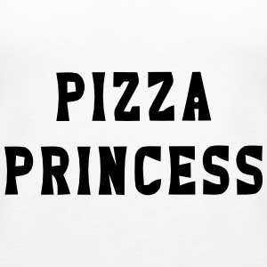 PIZZA PRINZESSIN Tops - Frauen Premium Tank Top