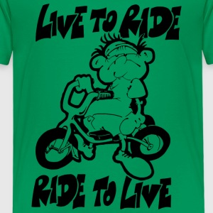 Live to ride - T-shirt Premium Enfant