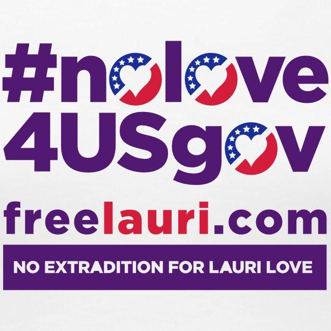 NoLove4USgov Women's T-shirt