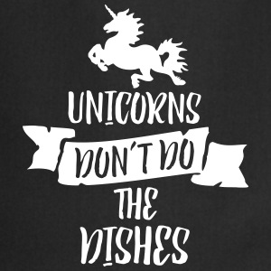 Unicorns Don't Do The Dishes Schürzen - Kochschürze