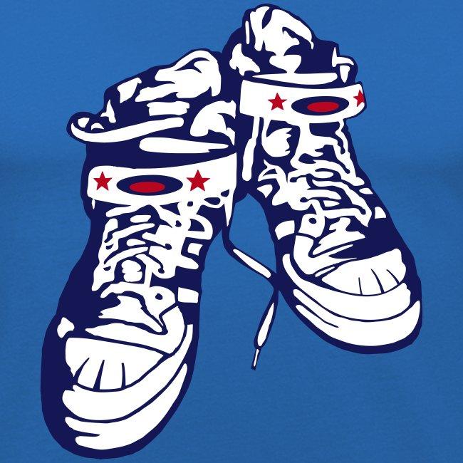 Sneaker / Blue / Slim